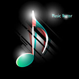 Vector music background Royalty Free Stock Photo