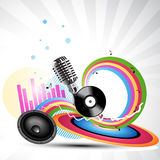 Vector music background Royalty Free Stock Photos