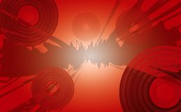 Vector music background Stock Image
