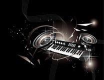 Vector music illustration Royalty Free Stock Photo