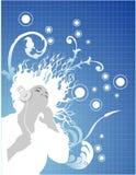 Vector music illustration. Vector abstract sound and music illustration Vector Illustration