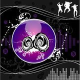 Vector music illustration Stock Images