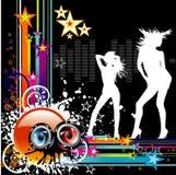 Vector music illustration vector illustration