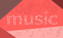 Vector music Stock Photos