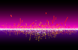 vector music wave Royalty Free Stock Photography