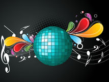 VECTOR musical background Royalty Free Stock Photography