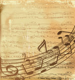 Vector musical background Royalty Free Stock Image