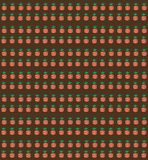 Vector Muster mit Karotten auf einem Gartenbett Nahtloses Muster GA Stockbilder