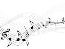 Vector Muziek Stock Foto