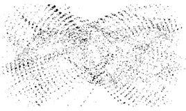 Vector muziekachtergrond stock illustratie