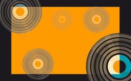 Vector muziekachtergrond Royalty-vrije Stock Foto