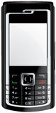 Vector móvil del teléfono móvil del teléfono celular Imagen de archivo