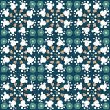 Vector naadloos abstract achtergrondpatroonontwerp Stock Afbeelding