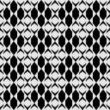 Vector naadloos abstract diagonaal zwart-wit patroon Abstract Behang als achtergrond Vector illustratie royalty-vrije illustratie
