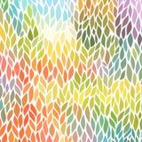 Vector naadloos abstract hand-drawn patroon Royalty-vrije Stock Afbeelding