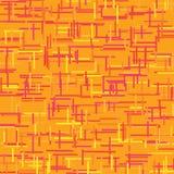 Vector naadloos - abstract patroon Stock Afbeelding