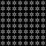 Vector naadloos abstract zwart-wit patroon Abstract Behang als achtergrond Royalty-vrije Illustratie
