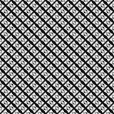 Vector naadloos abstract zwart-wit patroon Abstract Behang als achtergrond Vector illustratie Stock Afbeeldingen