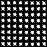 Vector naadloos abstract zwart-wit patroon Abstract Behang als achtergrond Vector illustratie Royalty-vrije Stock Foto's