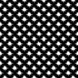 Vector naadloos abstract zwart-wit patroon Abstract Behang als achtergrond Vector illustratie Stock Afbeelding