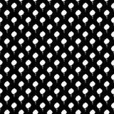 Vector naadloos abstract zwart-wit patroon Abstract Behang als achtergrond Vector illustratie Royalty-vrije Illustratie