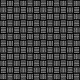 Vector naadloos abstract zwart-wit patroon Abstract Behang als achtergrond Vector illustratie Stock Foto