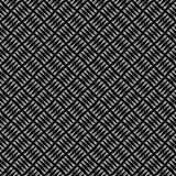 Vector naadloos abstract zwart-wit patroon Abstract Behang als achtergrond Vector illustratie Stock Fotografie
