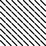 Vector naadloos abstract zwart-wit patroon Abstract Behang als achtergrond Vector illustratie Royalty-vrije Stock Foto