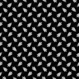 Vector naadloos abstract zwart-wit patroon diagonaal abstract behang als achtergrond Vector illustratie Vector Illustratie