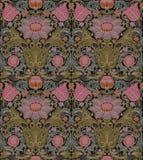 Vector naadloos barok uitstekend patroon Royalty-vrije Stock Afbeelding