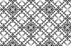 Vector naadloos behang 5 royalty-vrije illustratie