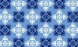 Vector naadloos behang 7 vector illustratie