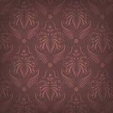 Vector naadloos behang met abstract patroon stock illustratie