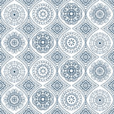 Vector naadloos bloemenpatroon Stock Afbeelding