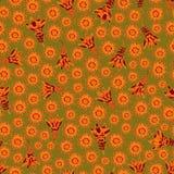 Vector naadloos bloemenpatroon Royalty-vrije Stock Foto's