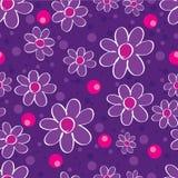 Vector naadloos bloemenpatroon in de stijl van het land royalty-vrije stock fotografie
