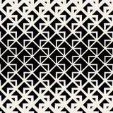 Vector Naadloos de Lijnenpatroon van het Driehoeks Geometrisch Net Stock Foto's