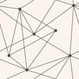 Vector naadloos driehoeken geometrisch patroon Stock Foto's