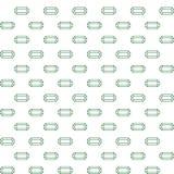Vector naadloos eenvoudig patroon van smaragd royalty-vrije illustratie