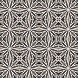 Vector naadloos elegant bloemenpatroon met het herhalen van elementen Royalty-vrije Stock Afbeeldingen