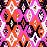 Vector naadloos etnisch patroon Royalty-vrije Stock Afbeelding