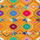 Vector naadloos etnisch patroon Royalty-vrije Stock Afbeeldingen