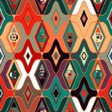 Vector naadloos etnisch patroon Royalty-vrije Stock Foto
