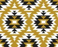 Vector naadloos etnisch patroon Stammenontwerp voor behang, omslagdocument of stof royalty-vrije illustratie