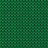 Vector naadloos gebreid wolpatroon Stock Afbeeldingen