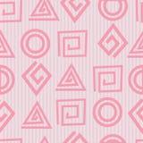 Vector naadloos geometrisch patroon Stock Foto