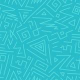 Vector naadloos geometrisch patroon - hand getrokken ontwerp, krabbelstijl Het trekken van decoratieve achtergrond stock illustratie