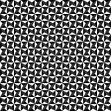 Vector naadloos geometrisch patroon Textuur van driehoeken Zwart-witte achtergrond Zwart-wit ontwerp vector illustratie