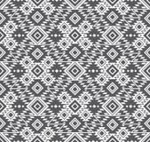 Vector Naadloos Geometrisch Stammen Etnisch Patroon stock illustratie