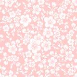 Vector naadloos het patroonelement van de sakurabloem Elegante textuur voor achtergronden Cherry Blossom vector illustratie